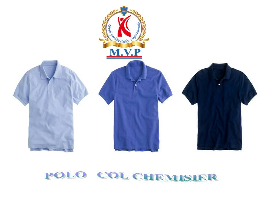 Polo col chemisier